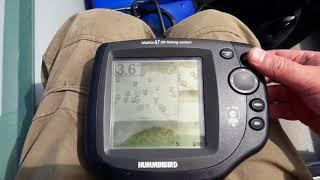 Эхолоте humminbird matrix 47 3d