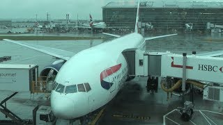 preview picture of video 'First Class British Airways London to New York Newark [HD]'