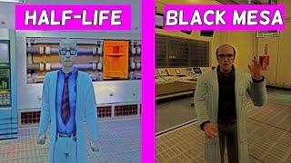 Black Mesa vs. Half-Life - Kleiner and Eli - All Quotes Comparison