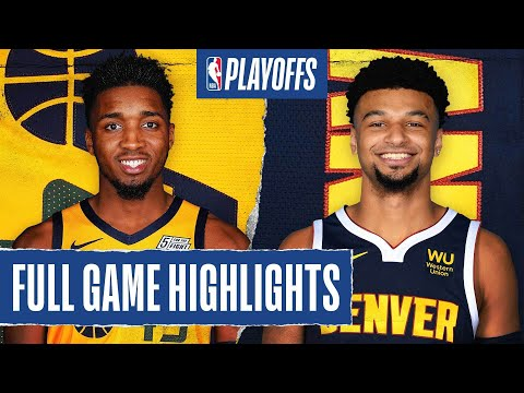 JAZZ at NUGGETS | FULL GAME HIGHLIGHTS | August 25, 2020