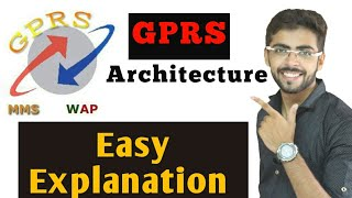 Mobile Computing Lecture - -  GPRS Architecture (Eng-Hindi)