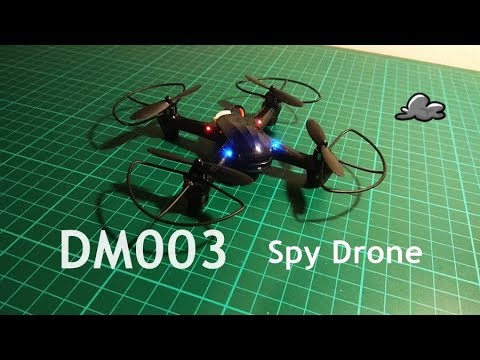 DM003 quadcopter, review by Drone Revolution Italy