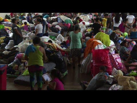 العرب اليوم - شاهد: مئات الناجين من بركان في غواتيمالا