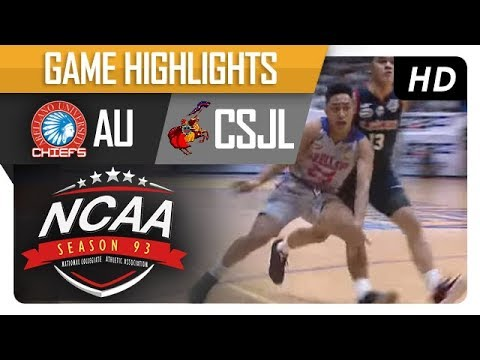 AU vs. CSJL | NCAA 93 | MB | Game Highlights | October 20, 2017