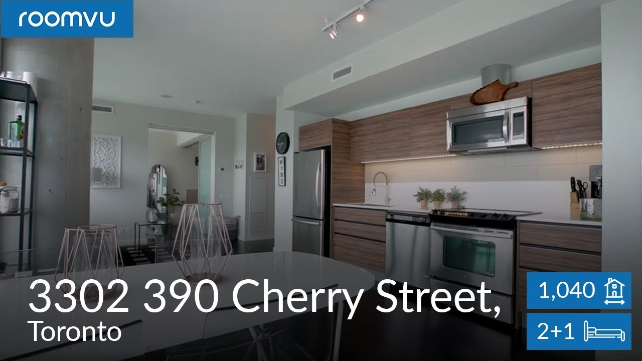 Sophisticated 2BD 2WR In Heart of Toronto cinematic real estate video from roomvu