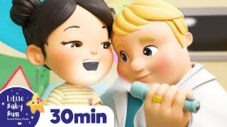 Going to The Doctor's Song! +More Nursery Rhymes - ABCs and 123s & Songs For Kids! Little Baby Bum