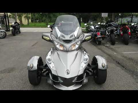 2012 Can-Am Spyder® RT-S SM5 in Sanford, Florida - Video 1