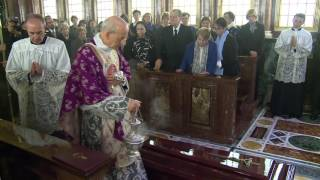 Late Prelate Buried in Prelatic Church