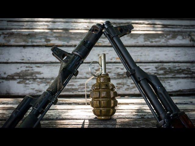 Стрельба из окон и граната в палисаднике