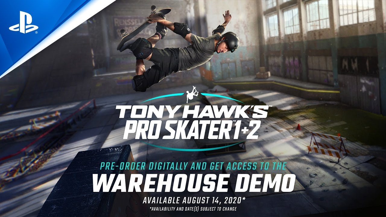Se han revelado nuevos skaters para Tony Hawk's Pro Skater 1 & 2. Reservas abiertas.