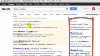 Google Analytics - Relatórios Padrão - Seção Publicidade