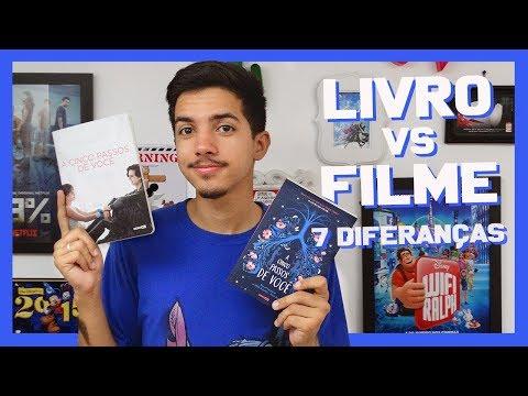 LIVRO vs FILME: A Cinco Passos de Você | Estante Quadrada