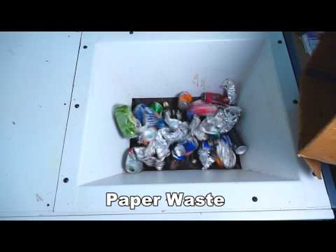Paper Waste Shredder Machine - MAXIN INDIA HODIS 500 AD
