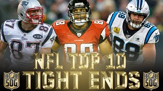 NFL Top 10 Best Tight Ends Ever