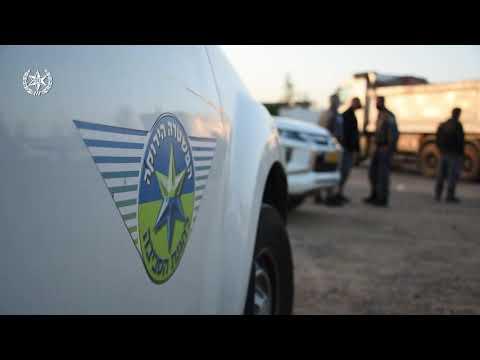 צפו: מעצר 6 חשודים בהפעלת מטמנת פסולת והלבנת הון