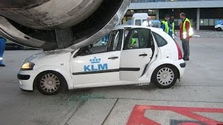 Лучший авто прикол. Спасение самолета