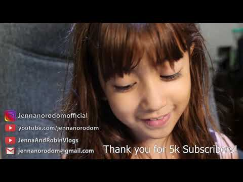 Jenna Norodom: Thank you for 5k subscribers!!