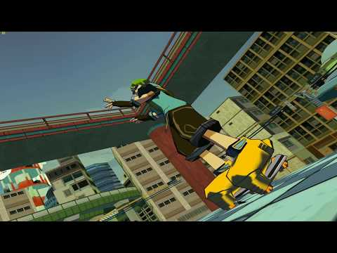 [Cxbx Reloaded] - Jet Set Radio Future PAL - 4K 60FPS