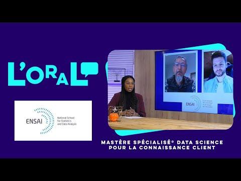 L'oral :  MS data science pour la connaissance client
