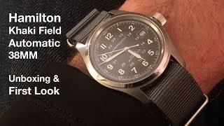 Hamilton Khaki Field Auto 38MM Unboxing & First Look!