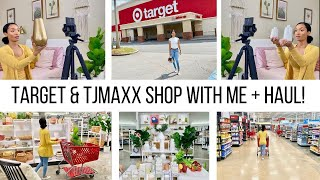 TARGET & TJMAXX SHOP WITH ME + HAUL! // HOME DECOR HAUL 2020 //Jessica Tull