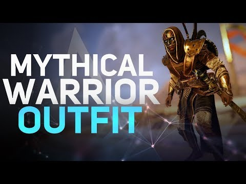 Assassin's Creed Origins - Mythical Warrior Outfit Showcase (New Game + Reward)