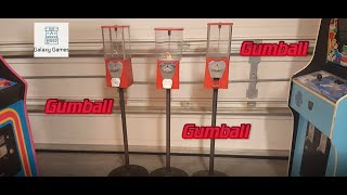 How to Open Locked Gumball Machines and See if there is Money Inside!!