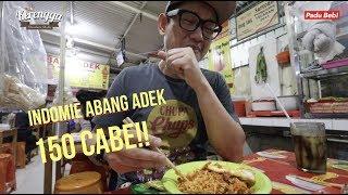 Spicy Challenge 'FAILED' Indomie Abang Adek 150 Cabe   PaduBebTravel - JakartaPart02 (ENG SUBS)