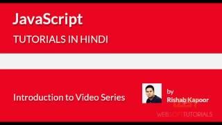 Websofttutorials JavaScript Tutorial in Hindi