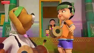 Holi Cartoon Song With Dance