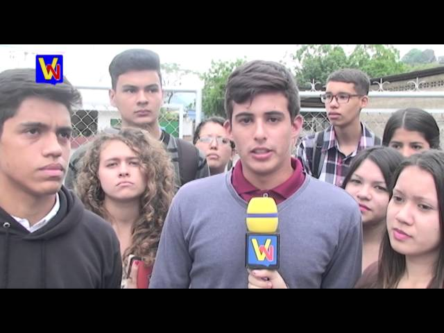 Estudiantes de la UVM protestan por inseguridad en su sede