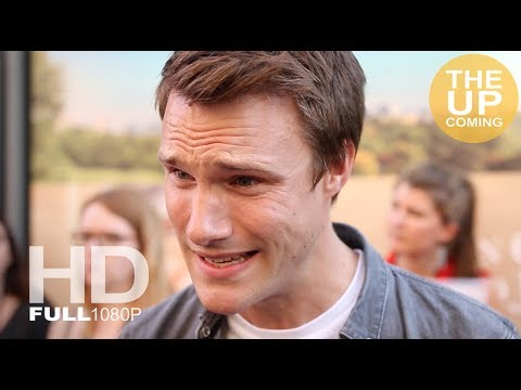 Hugh Skinner interview at the Hampstead premiere in London