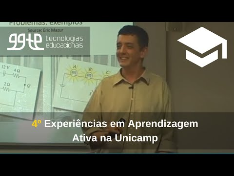 4o. Experiências práticas em Aprendizagem Ativa na Unicamp