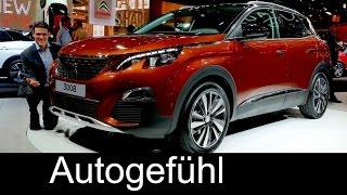 All-new Peugeot 3008 Exterior/Interior preview SUV 2017 neu - Autogefühl