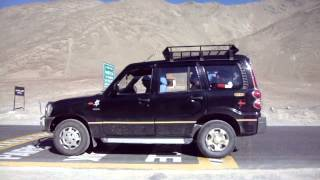 preview picture of video 'Magnetic Hill on NH-1D at Leh-Ladakh, J&K, INDIA'