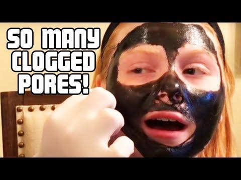 Die Maske für die Person aus dem Kastoröl Videos