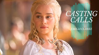 What Roles Has Emilia Clarke Turned Down? | CASTING CALLS