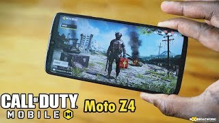 Motorola Moto Z4 Gaming: Call of Duty Mobile  Beta Battle Royale