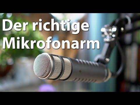 Der richtige Mikrofonarm - Der große Vergleich - Rode vs Millenium vs Neewer / Foxnovo / Aukey etc.