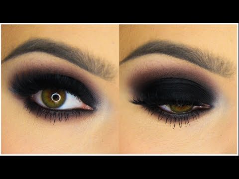 Classic Black Smokey Eye Tutorial