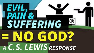 Evil, Pain, Suffering = NO GOD? a C.S. Lewis response