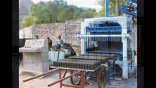 preview picture of video 'QT5 block making machine,brick making machine,cement block machine,hollow block machine'