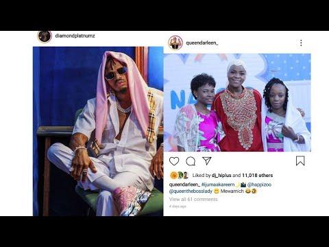 Queen Darleen:Nilipamba Meseji ,Diamond/Kwa mara ya kwanza kajibu meseji yangu haraka.