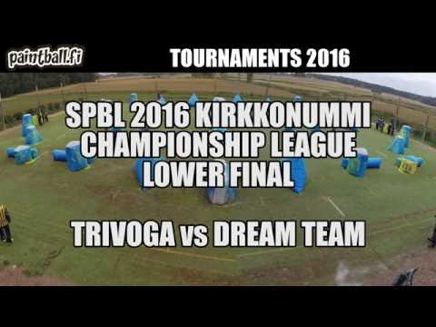 Trivoga vs Dream Team - Lower Final - SPBL2016 Kirkkonummi