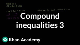 Compound Inequalities 3