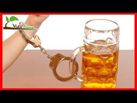 La reconstitución después de la dipsomanía del alcoholismo