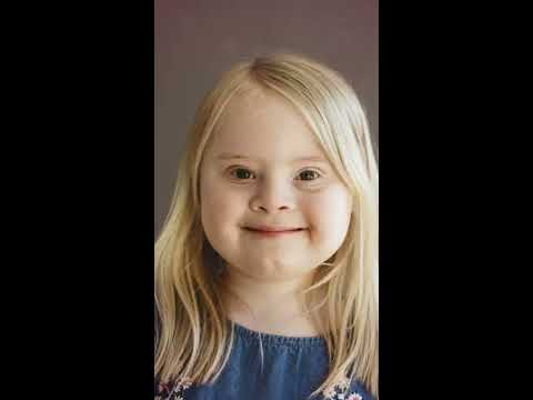 Watch video 7-Year-Old With Down Syndrome Lives Modelling Dream