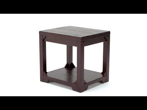 Rogness T745-3 Rectangular End Table