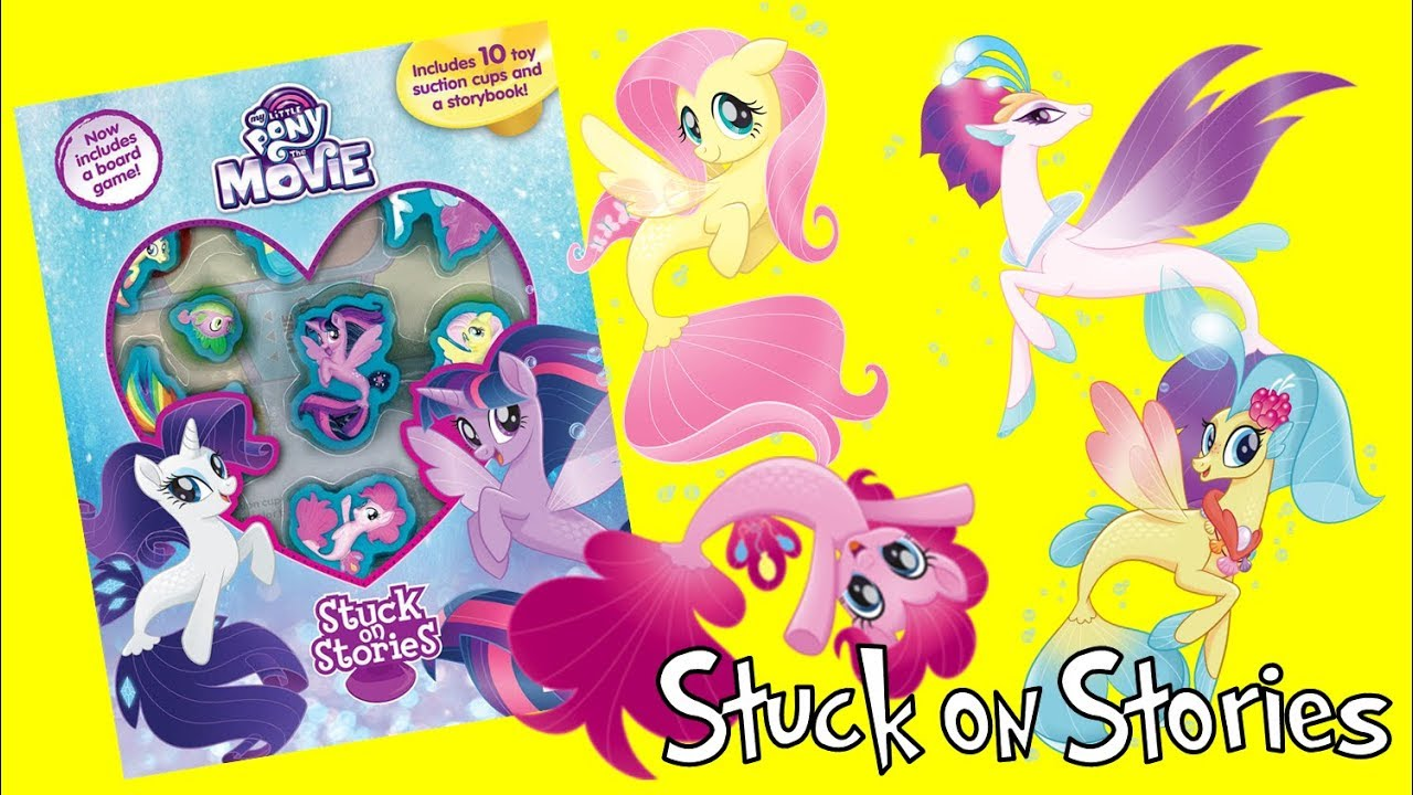 My Little Pony Movie 2017 Activity Book Stuck on Stories with Seaponies