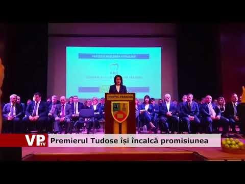 Premierul Tudose își încalcă promisiunea